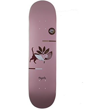 Magenta Cat Skateboard Deck - 8