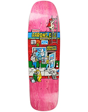Polar Herrington Aaron's Deli Skateboard Deck - 1992 Shape 9.25