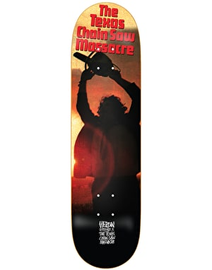 Heroin x Texas Chainsaw Massacre Leatherface Skateboard Deck - 8.5
