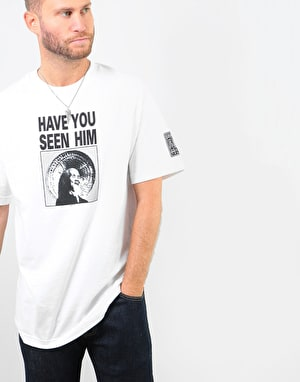 Powell Peralta Have You Seen Him T-Shirt - White