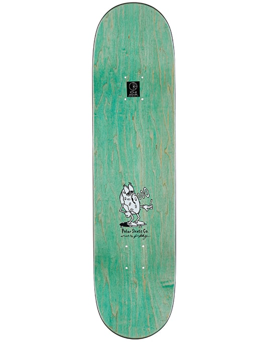 Polar Herrington Smoking Donut Skateboard Deck - 8.375""