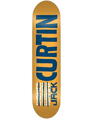Skate Mental Curtin Name Skateboard Deck - 8