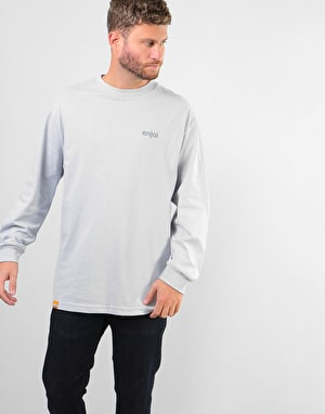 Enjoi Umbrella L/S T-Shirt - Silver
