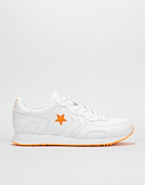 Converse x Illegal Civ Thunderbolt Ox Shoes - White/Orange/White