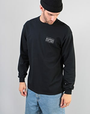 Scarred For Life Snake & Dagger LS T-Shirt - Black