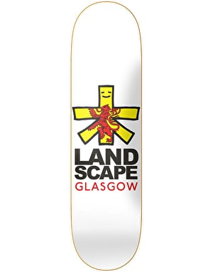 Landscape Glasgow Cities Skateboard Deck - 8