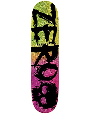 Zero Blood Glitter Skateboard Deck - 8.25