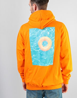 Route One Pool Party Pullover Hoodie - Orange
