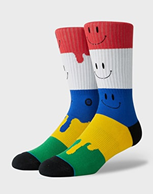 Stance Face Melter Classic Crew  Socks - Multi