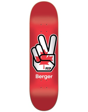 Flip Berger Liberty Skateboard Deck - 8