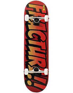 Fracture Comic Series 4 'Reactor Red' Complete Skateboard - 8
