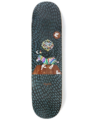 Magenta Panday Perceptions Skateboard Deck - 8.25