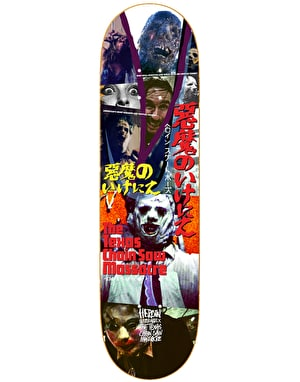 Heroin x Texas Chainsaw Massacre Collage Skateboard Deck - 8.625
