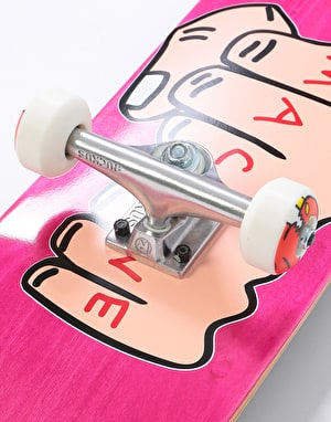 Toy Machine Fists Woodgrain Complete Skateboard - 7.75