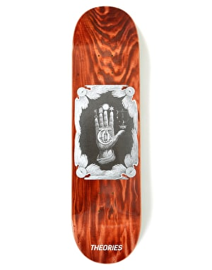 Theories Hand of Theories Skateboard Deck - 8.25