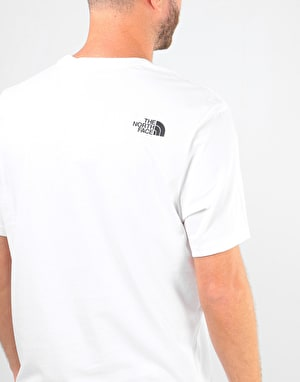 The North Face S/S Easy T Shirt - TNF White