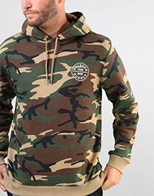 Brixton Oath II Pullover Hoodie - Camo