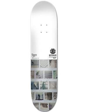 Element x Polaroid French Fred Skateboard Deck - 8.5