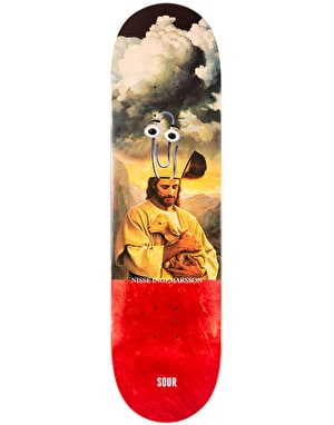 Sour Nisse Clip Head Skateboard Deck - 8.18