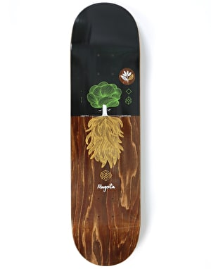 Magenta Night Tree Skateboard Deck - 8.125