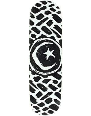 Foundation Star & Moon Stokes Skateboard Deck - 8.5