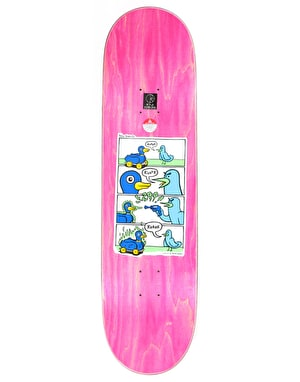 Polar Dane Kvaak Zap Kvaak Skateboard Deck - P5 Shape 8.625