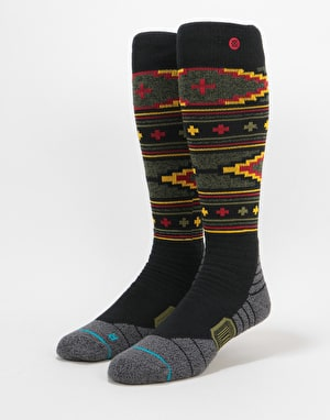 Stance Burnside All Mountain Snowboard Socks - Black