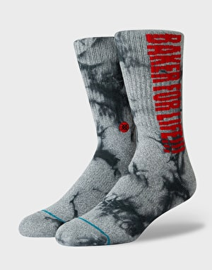 Stance x Baker For Life Skate Crew Socks - Grey