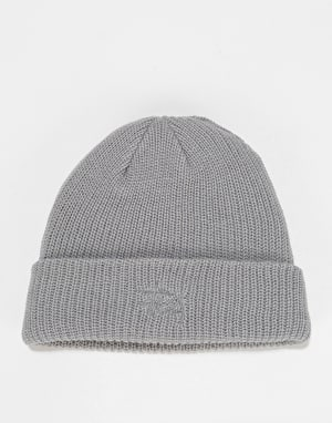 Stüssy Basic Cuff Beanie - Grey Heather