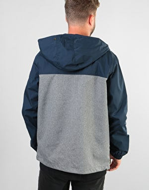 Element Alder Light Jacket - Eclipse Navy Grey Heather
