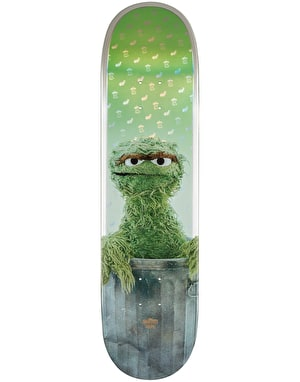 Globe x Sesame Street Oscar the Grouch Skateboard Deck - 8.25