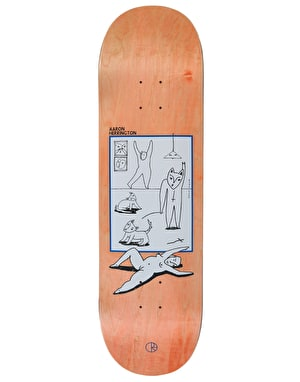 Polar Herrington Evol Love Skateboard Deck - 8.75