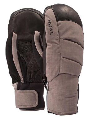 Howl Down 2019 Snowboard Mitts - Grey