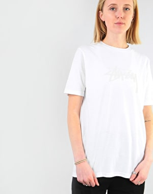 Stüssy Womens Stock T-Shirt - White