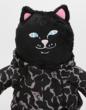 RIPNDIP Jerm Camo Plush Doll  - Blackout Camo