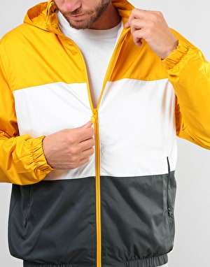 Nike SB Stripe Dri-Fit Hooded Jacket - Yellow Ochre/White/Anthracite