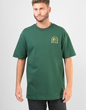 Pass Port Pool Hall T-Shirt - Forest Green