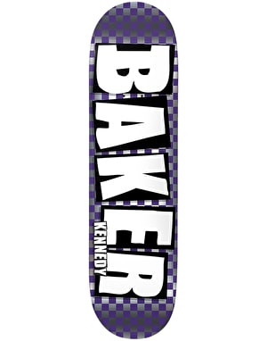 Baker Kennedy Brand Name Check Foil Pro Deck - 8