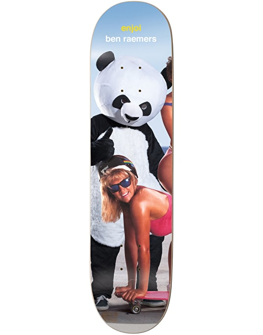 Enjoi Raemers Slick Chicks Slick Skateboard Deck - 8.5""