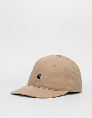 Carhartt Madison Logo Cap - Leather / Black