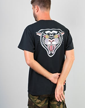 Scarred For Life Black Panther T-Shirt - Black