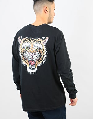 Scarred For Life Tigress LS T-Shirt - Black