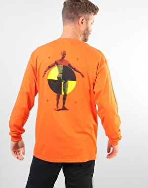 Route One Dummies LS T-Shirt - Sport Orange
