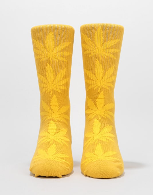 HUF Plantlife Socks - Honey Mustard