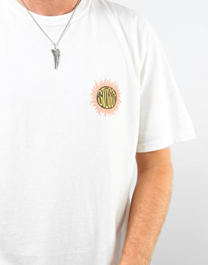 Stüssy Sol Pigment Dyed T-Shirt - Natural