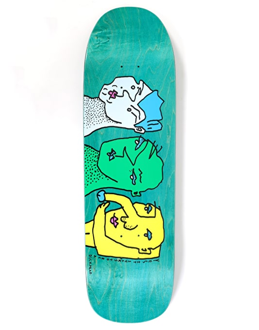 Polar It Sucks to be a Dickhead Skateboard Deck - 1991 Shape 9.25""