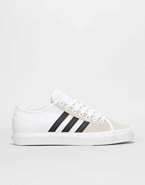 Adidas Matchcourt RX Skate Shoes - White/Black/White