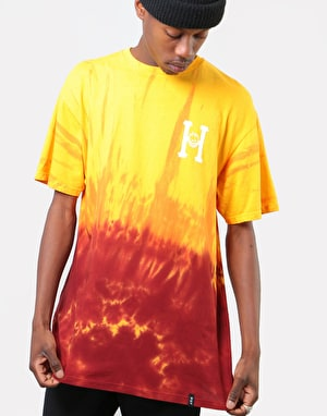 HUF x Spitfire Classic H Tie Dye T-Shirt - Red