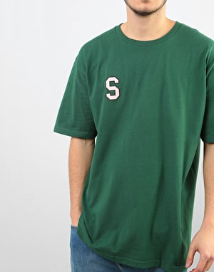 Stüssy College Arc T-Shirt - Pine