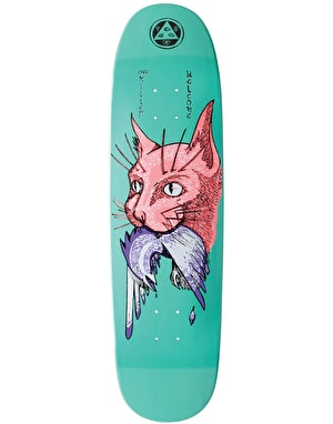 Welcome Miller Cat Gets Bird on Catblood 2.0 Skateboard Deck - 8.75